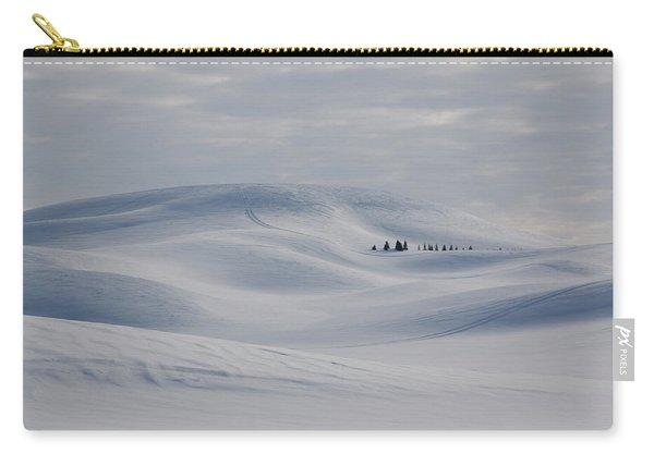 Frozen Winter Hills Carry-all Pouch