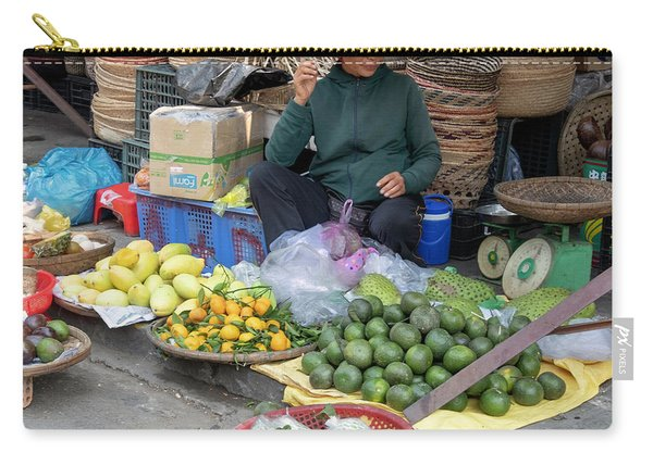 Fruit Market Woman 2, Vietnam Carry-all Pouch