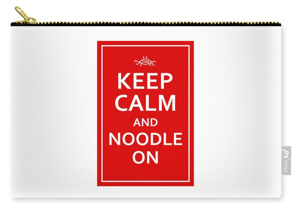 Fsm - Keep Calm And Noodle On Carry-all Pouch