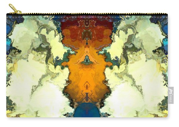 Carry-all Pouch featuring the digital art Fuego  by A z Mami