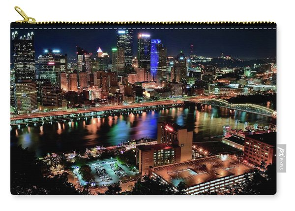Full City View In Pittsburgh Carry-all Pouch