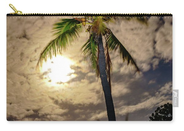Full Moon Palm Carry-all Pouch
