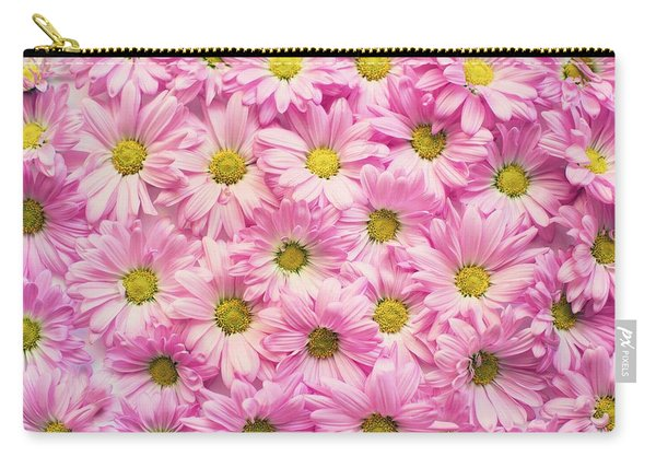 Full Of Pink Flowers Carry-all Pouch