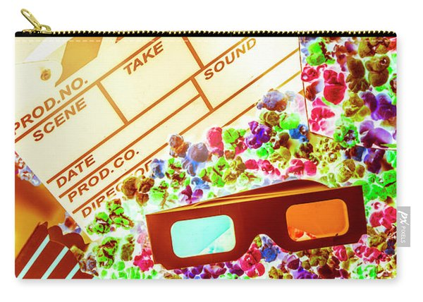 Funky Film Festival Carry-all Pouch