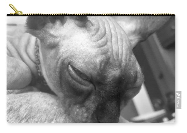 Furrowed Brow Carry-all Pouch