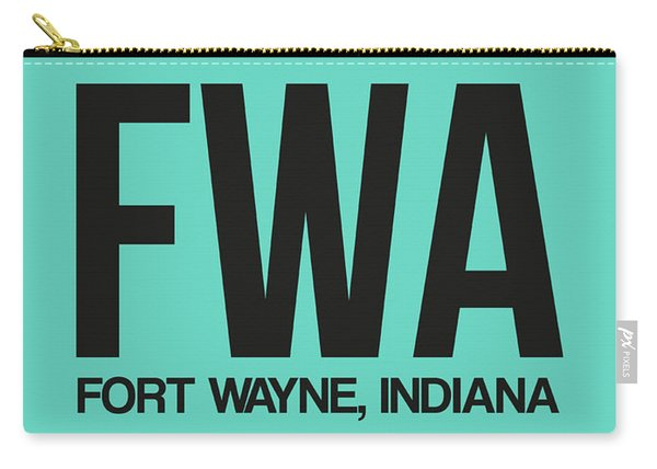 Fwa Fort Wayne Luggage Tag I Carry-all Pouch