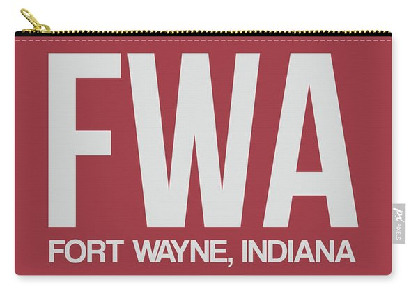 Fwa Fort Wayne Luggage Tag II Carry-all Pouch