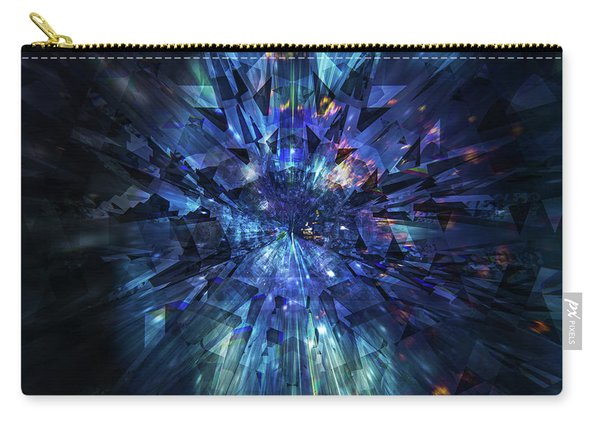 Galactic Crystal Carry-all Pouch