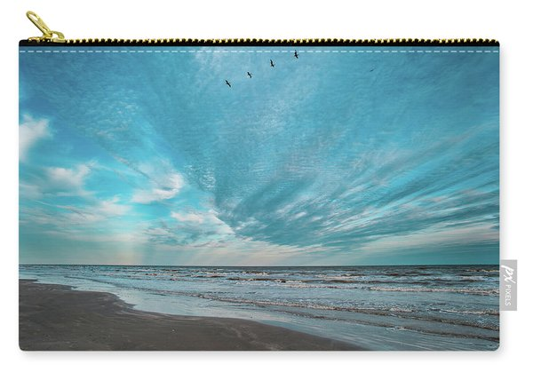 Galveston Island First Light Carry-all Pouch
