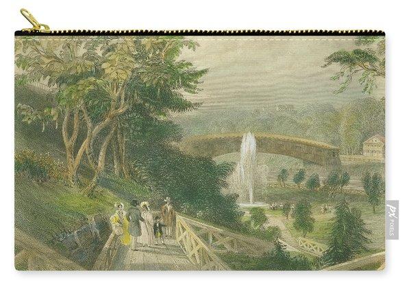 Garden At Fairmount Carry-all Pouch