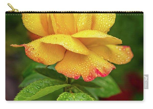 Garden Rose Carry-all Pouch