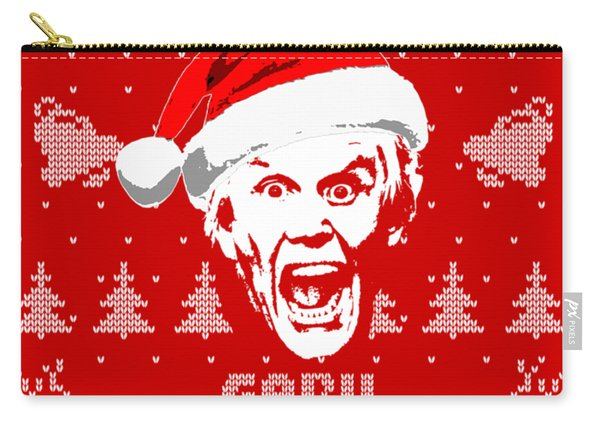 Gary Busey Christmas Shirt Carry-all Pouch