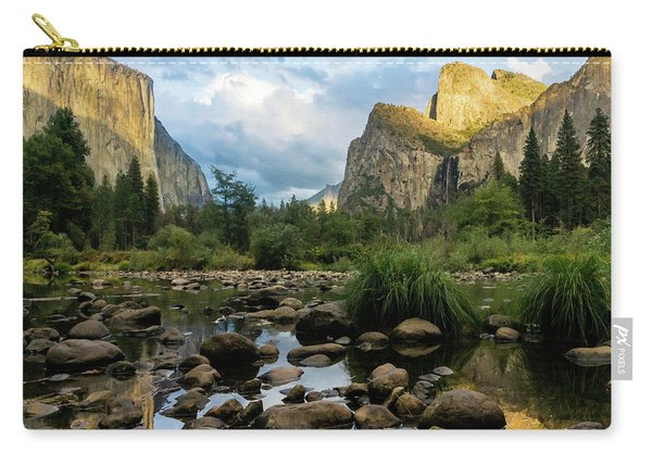 Gates Of The Valley 3 Carry-all Pouch
