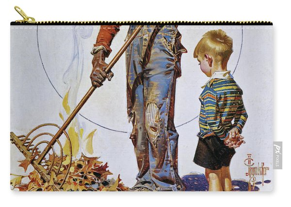 Gather Of Fallen Leaves - Digital Remastered Edition Carry-all Pouch