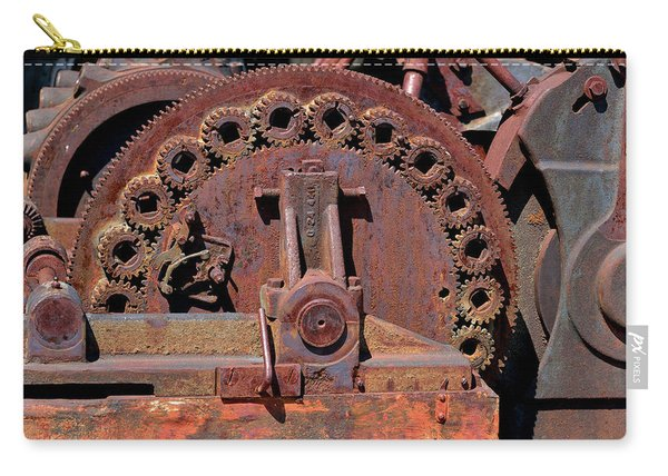 Gears/gears And Rust Carry-all Pouch