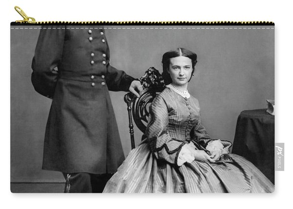 General Custer And His Wife Libbie Carry-all Pouch