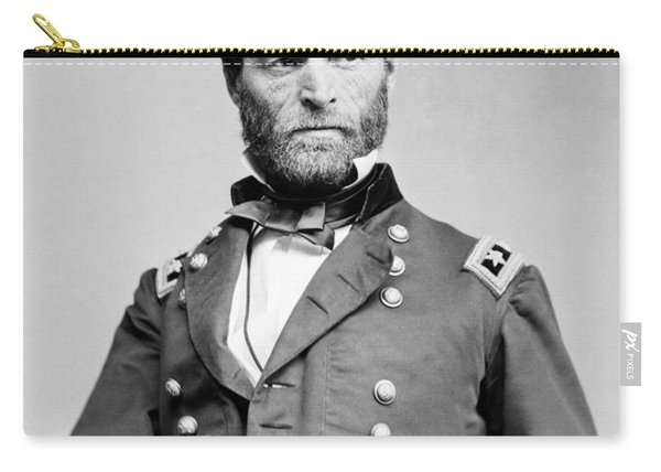 General Sherman - Hand In Coat Portrait Carry-all Pouch