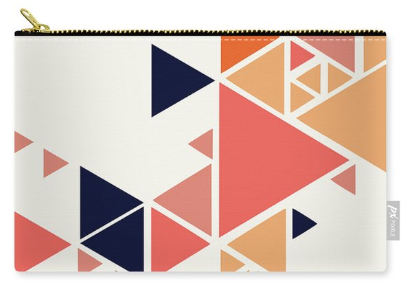 Geometric Painting 1 Carry-all Pouch