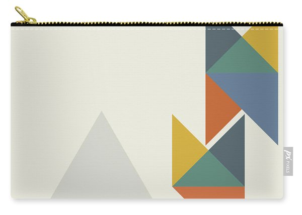 Geometric Painting 14 Carry-all Pouch