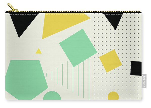 Geometric Painting 7  Carry-all Pouch
