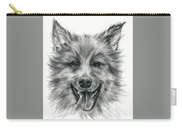 German Shepherd Smile Carry-all Pouch