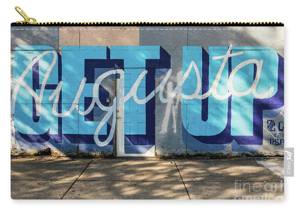 Get Up Augusta Ga Mural  Carry-all Pouch