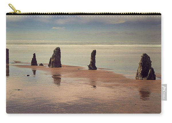 Carry-all Pouch featuring the photograph Ghost Forest by Whitney Goodey