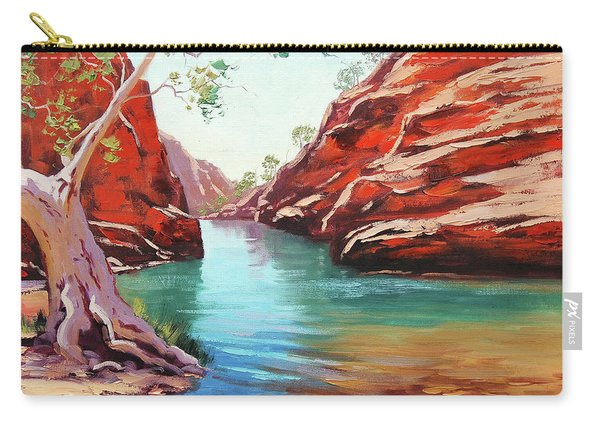 Ghost Gum Alice Springs Carry-all Pouch