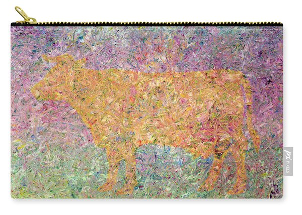 Ghost Of A Cow Carry-all Pouch