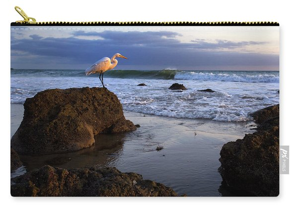 Giant Egret Carry-all Pouch