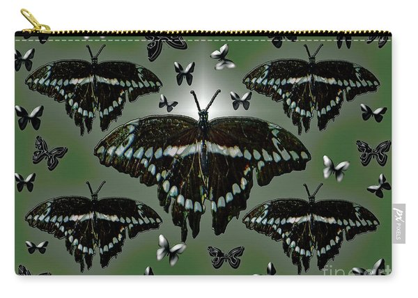 Giant Swallowtail Butterflies Carry-all Pouch