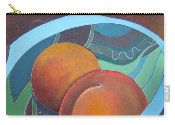 Carry-all Pouch featuring the painting Gifted By Nature by Helena Tiainen