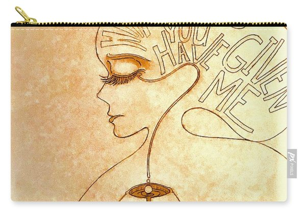 Gifts Of The Mind Carry-all Pouch