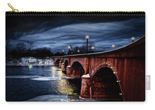 Gillett Bridge Grand Rapids Michigan Carry-all Pouch
