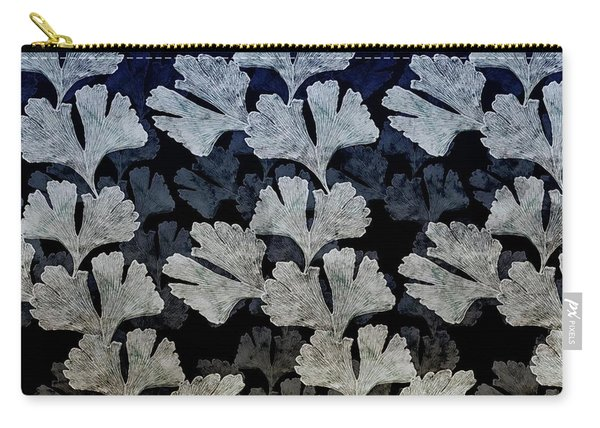 Ginko Leaf Pattern Carry-all Pouch