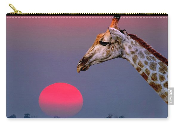 Giraffe Composite Carry-all Pouch