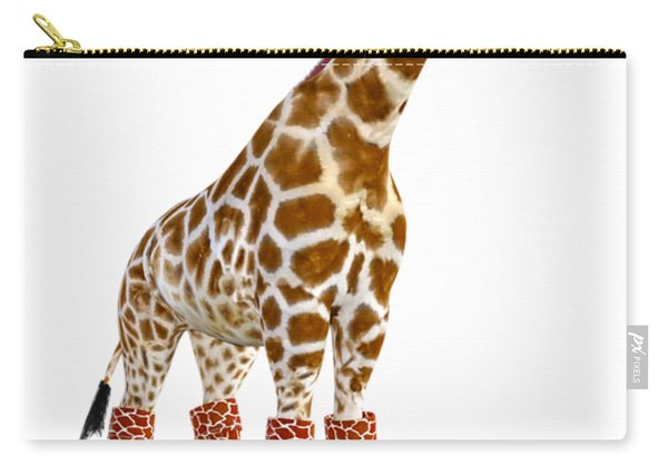 Giraffe Funny Pose Carry-all Pouch