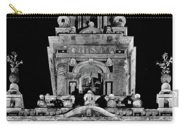 Giralda Tower In Monochrome. Seville Carry-all Pouch