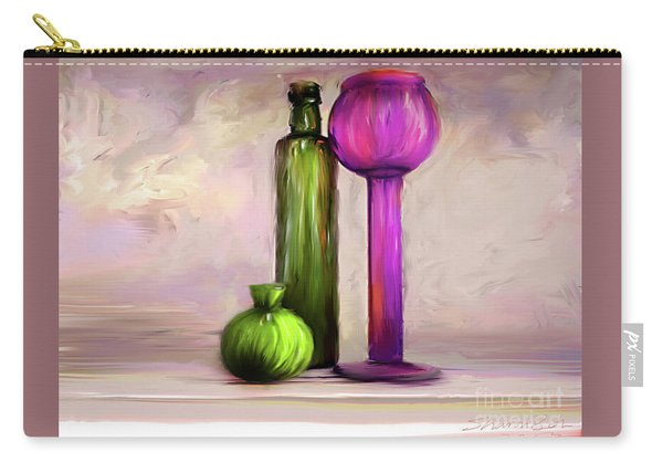 Glass On Glass Carry-all Pouch
