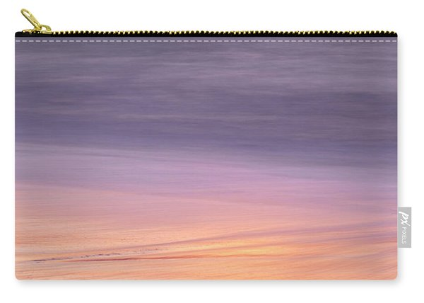 Carry-all Pouch featuring the photograph Gleneden Beach Sunset by Whitney Goodey