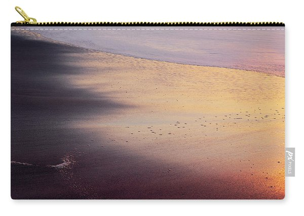 Carry-all Pouch featuring the photograph Gleneden Glow by Whitney Goodey