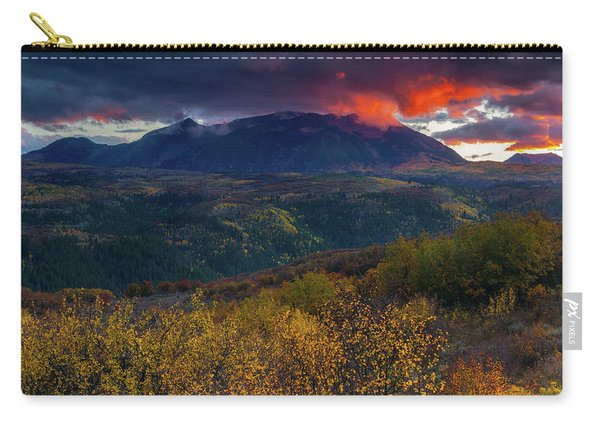 Carry-all Pouch featuring the photograph Glimpse Of Heaven by John De Bord