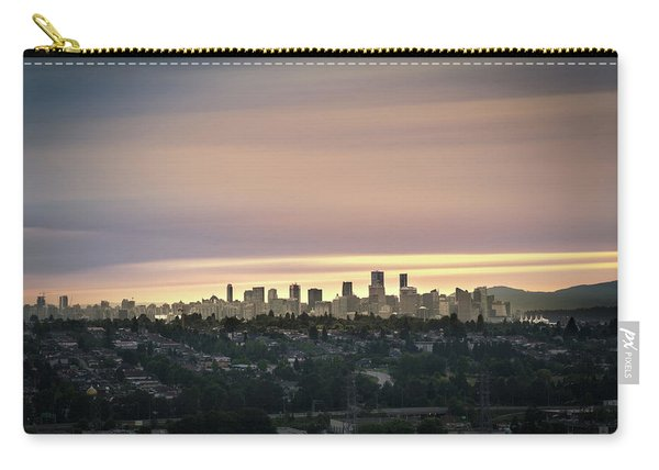 Gloden Sky On Vancouver Carry-all Pouch