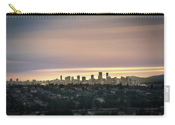 Golden Sky On Vancouver Carry-all Pouch