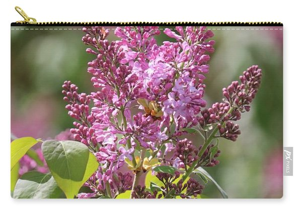 Glorious Lilacs Carry-all Pouch