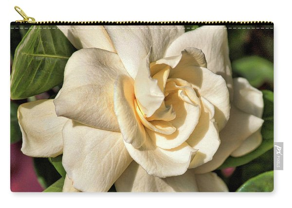 Glowing Gardenia Carry-all Pouch