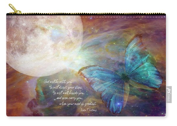 God Will Be With You Carry-all Pouch