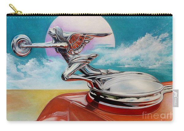 Goddess Of Speed Carry-all Pouch