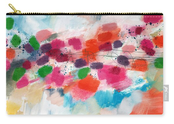 Going Somewhere- Abstract Art By Linda Woods Carry-all Pouch