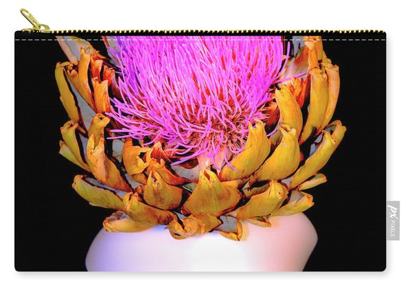 Gold And Pink Carry-all Pouch